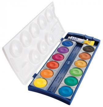 Pelikan Farbkasten K12® inkl. Deckweiß - 12 Farben