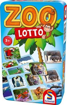 Zoo Lotto (Spiel in der Metalldose)