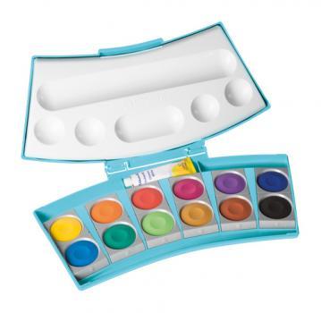 Pelikan Farbkasten Procolor® - Blau - 12 Farben