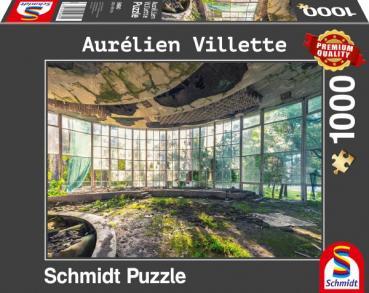 Aurélien Villette - Altes Café in Abchasien
